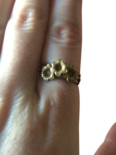 Other Handmade Sterling Silver & Copper Flower Multi Ring Size 8