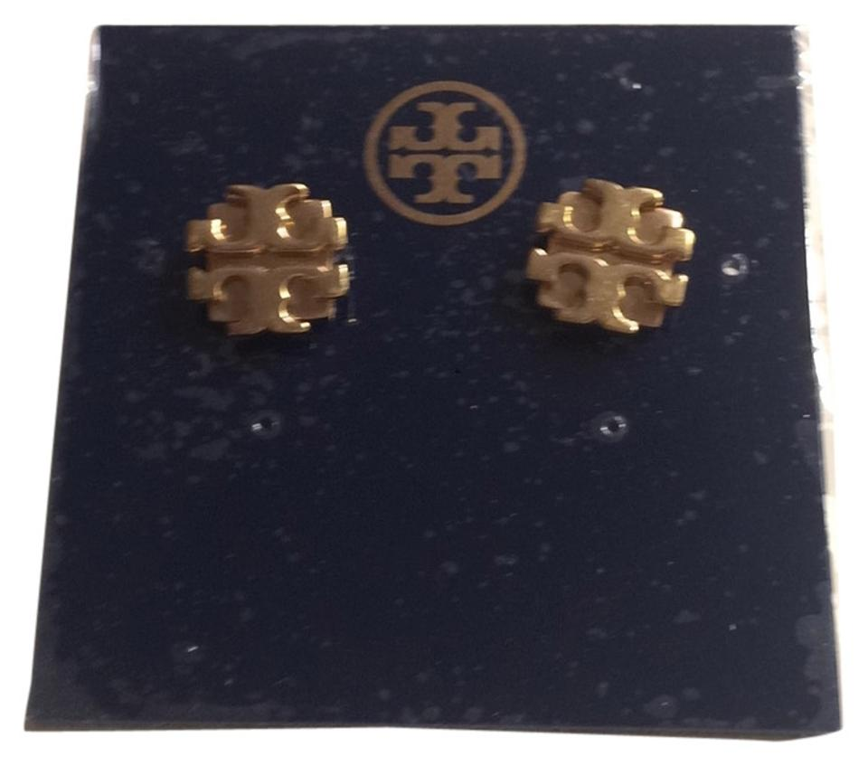 Tory Burch Large T Logo Stud