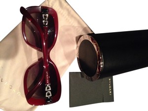 BVLGARI BVLGARI Sunglases with diamond sides brand new.