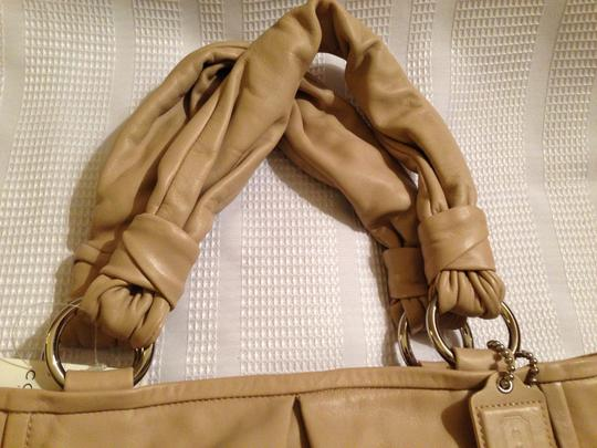 Coach Satchel in Tan/Beige