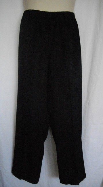 Other Pull On Elastic Wide Leg Pants Black