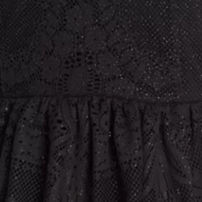 Free People short dress Black/gold speckles on Tradesy