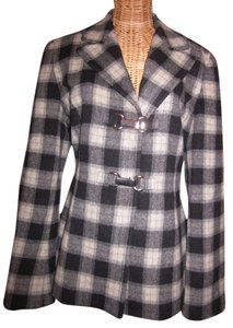 Carlisle Pockets Checkered Pea Coat