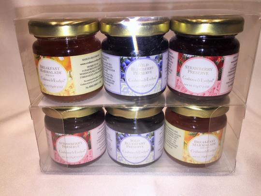 """Other Crabtree & Evelyn""""Pantry Spreads"""" Collection-Marmalades & Preserves (2 oz. each), Manuka Honey (8.8 oz.) & Ginger Spread (8.8 oz) [ Roxanne Anjou Closet ]"""