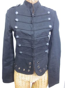 For life is Sweet / Cotton Candy Lined Hook And Eye Military Jacket