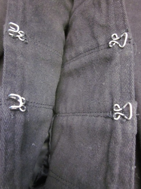 For life is Sweet / Cotton Candy Lined Hook And Eye Military Jacket Image 4