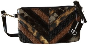 New Directions Wristlet in Multi-Printed Faux Leather Wristlet