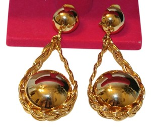 Beautiful Big Knocker Clip On Earrings