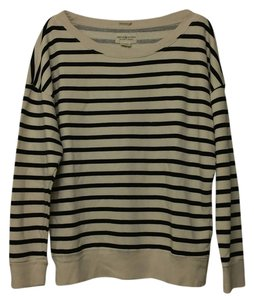 Denim & Supply Striped Knit Slub Boyfriend Oversized Woven Two-tone One Casual Scoop Neck Stripe Bold Stripe Ralph Lauren Boyfriend Sweater