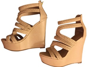 Bamboo Like New Sandals Light Color Wedges