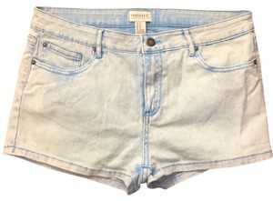 Forever 21 Shorts faded blue