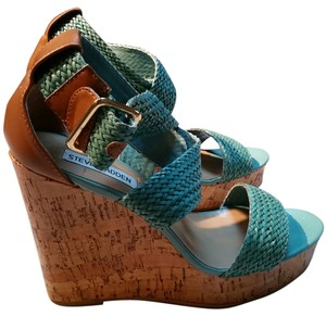 Guess Teal Wedges