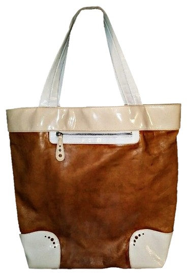 Kate Landry Designer Handbag Purse Tote in Brown