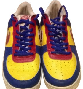 Nike Blue, Yellow, Red Athletic
