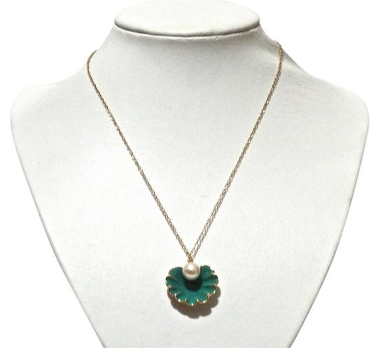 Kate Spade Kate Spade New York Green Shell Pearl Necklace