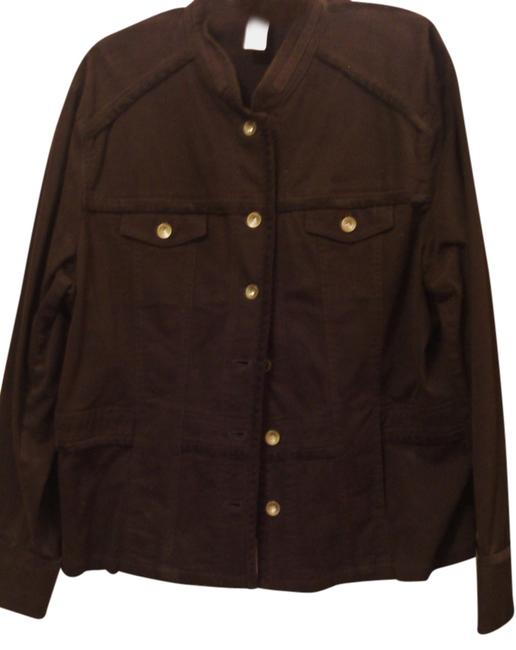 Item - Brown Jacket Size 22 (Plus 2x)