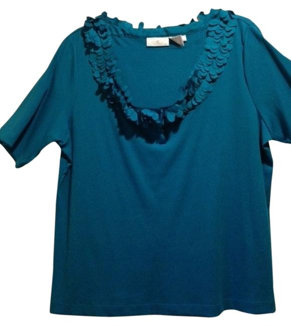 Preload https://item2.tradesy.com/images/soft-surroundings-teal-night-out-top-size-20-plus-1x-5855701-0-0.jpg?width=400&height=650