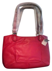 Coach Leather Campbell Classic Polished Shoulder Bag