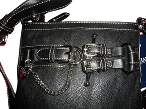 Chaps Silver Chain Cross Body Bag