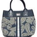 Tommy Hilfiger Tote in Paisley denim, white Image 0
