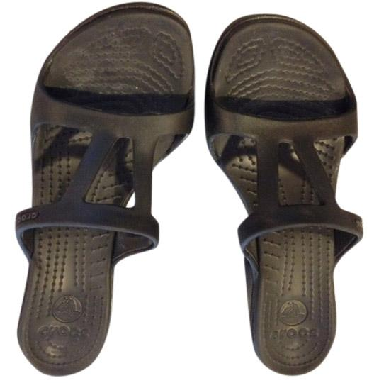Crocs black & white Sandals