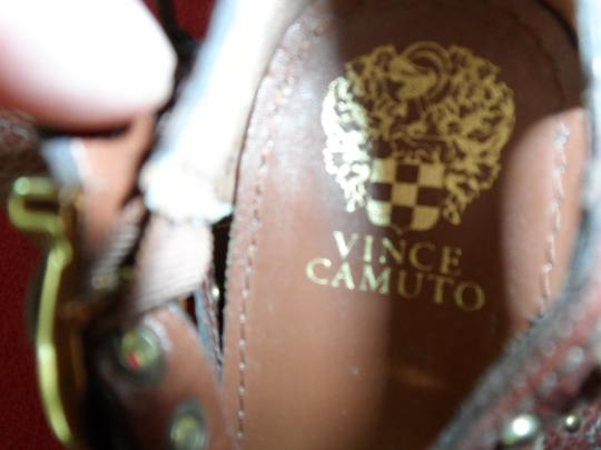 Vince Camuto Studded Warm Brown Sandals Image 2