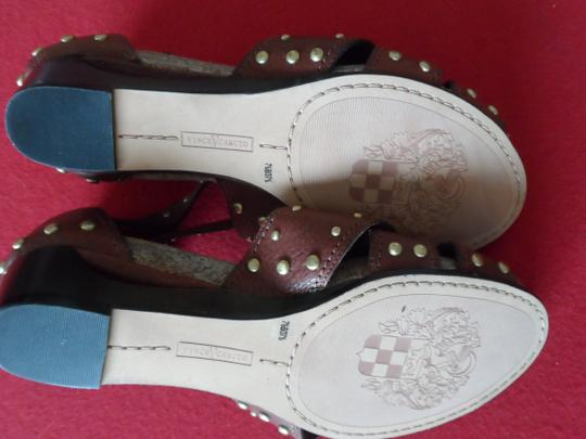 Vince Camuto Studded Warm Brown Sandals Image 3