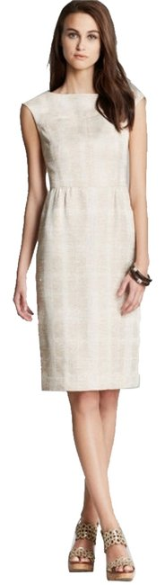 Preload https://item4.tradesy.com/images/tory-burch-ivory-fatima-textured-woven-sheath-knee-length-workoffice-dress-size-4-s-5856973-0-1.jpg?width=400&height=650