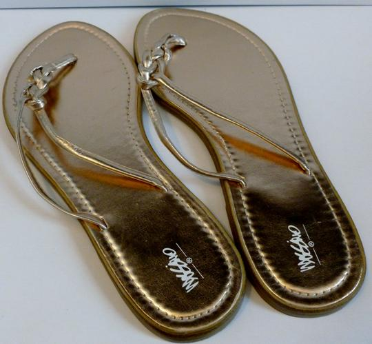 Mossimo Supply Co. Rose Gold Sandals