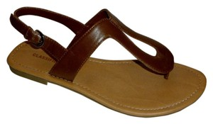 Classified Tan Sandals