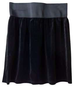 Laundry by Shelli Segal Velvet Mini Mini Skirt black