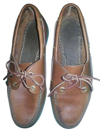 Etienne Aigner Leather Loafers Easy On/Off brown Flats
