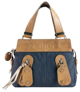 Chloé Satchel in Blue