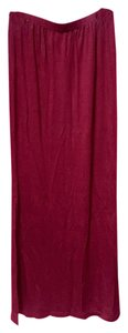 Maxi Skirt Oxblood