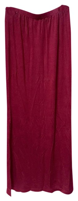 Other Maxi Skirt Oxblood