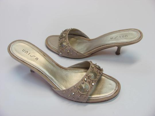 Unisa Good Condition Size 7.50 M Neutral Mules Image 1