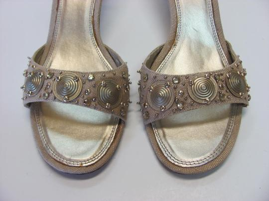 Unisa Good Condition Size 7.50 M Neutral Mules Image 3