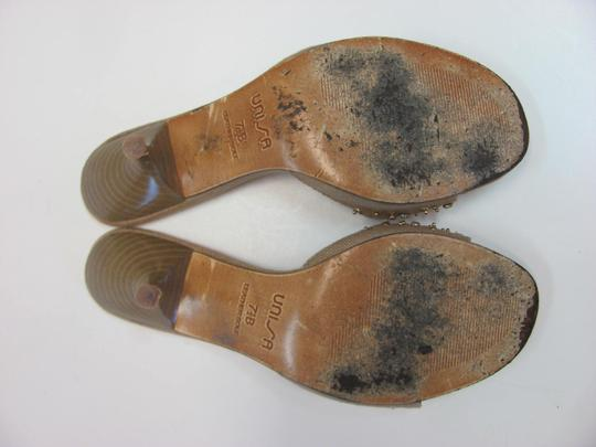 Unisa Good Condition Size 7.50 M Neutral Mules Image 4