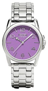 Coach Coach Sydney 14501830 Stainless Purple Dial Womens Watch
