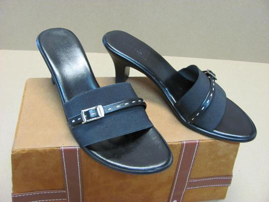 Mootsies Tootsies Very Good Condition Size 8.00 M Black Mules Image 1