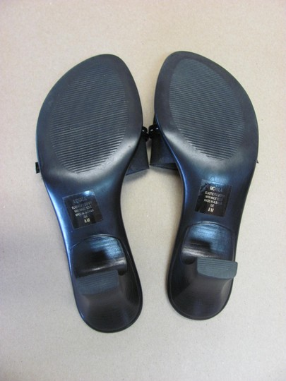 Mootsies Tootsies Very Good Condition Size 8.00 M Black Mules Image 4