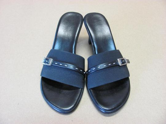 Mootsies Tootsies Very Good Condition Size 8.00 M Black Mules Image 5