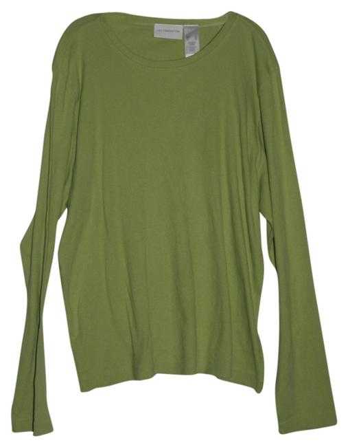 Preload https://item5.tradesy.com/images/liz-claiborne-lime-green-tunic-size-16-xl-plus-0x-5859574-0-0.jpg?width=400&height=650