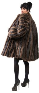 Saga Furs Fox Real Fur Fur Mink Fur Fur Coat
