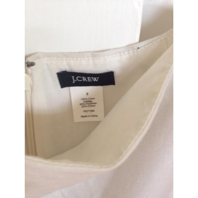 J.Crew Blue Skirt Ivory with navy ombre