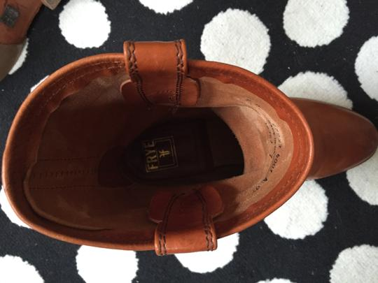 Frye Harness Brown Boots