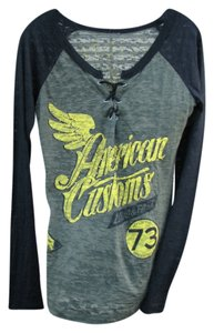 Affliction Burnout Top army green/black