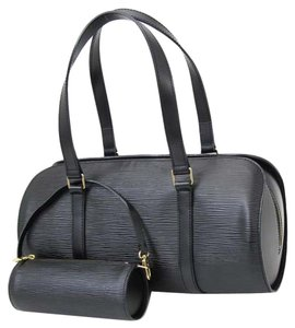 Louis Vuitton Papillon Epi Papillon Papillon Epi Papillon Wallet Handbag Satchel in black