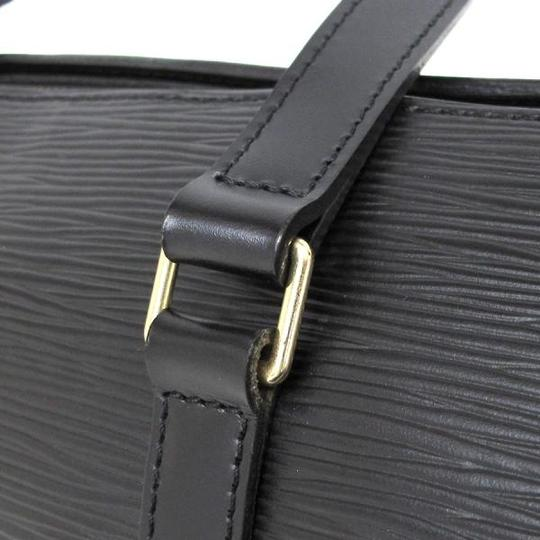Louis Vuitton Papillon Epi Papillon Papillon Epi Papillon Wallet Hand Purse Satchel in black