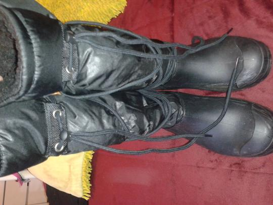 Other Winter Fall black Boots Image 4